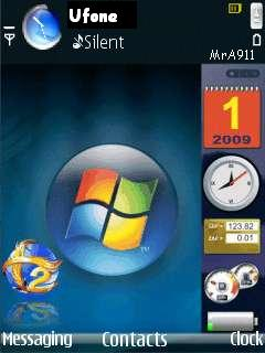Vista MrA911 Mobile Theme