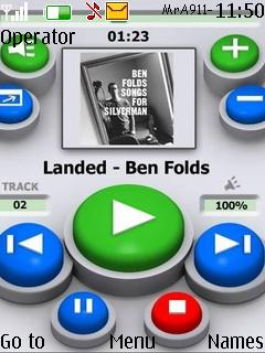 Media Player Mobile Theme
