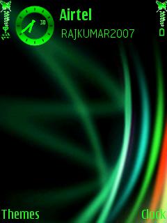 Vista Green Mobile Theme