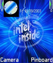 Intel Inside Theme Mobile Theme