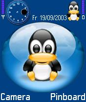 Linux Theme Mobile Theme