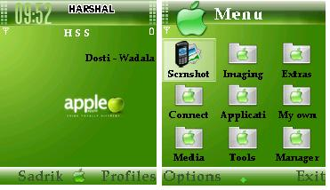 Apple Mobile Theme