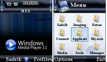 Windows Media Plyaer Mobile Theme