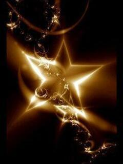 Abstract Star Mobile Wallpaper