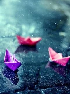 Rain  Mobile Wallpaper