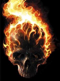 Burning Mobile Wallpaper