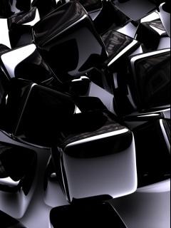 Black Mobile Wallpaper