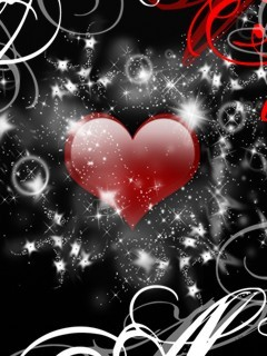 Abstract The Heart Mobile Wallpaper