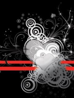 Black Love  Mobile Wallpaper