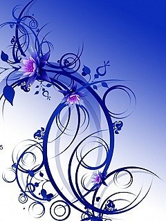 Blue Abs Mobile Wallpaper