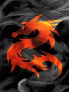 Dragon Fire Mobile Wallpaper