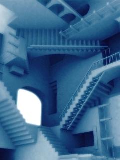 Escher Mobile Wallpaper
