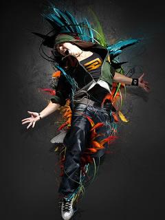 I Like Dance  Mobile Wallpaper
