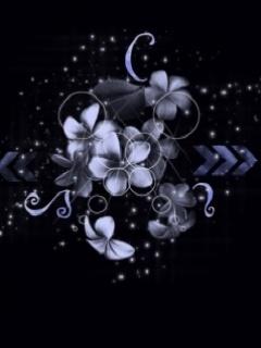 Blue Flower5 Mobile Wallpaper