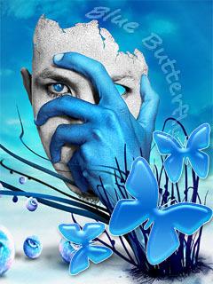 Blue Eyes Mobile Wallpaper