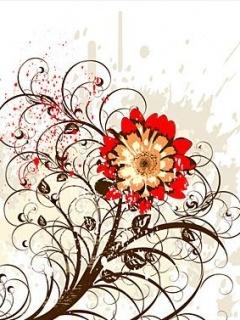 Lovely Red Rose Mobile Wallpaper