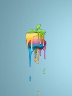 Color Apple Mobile Wallpaper