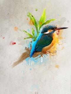 Bird Art  Mobile Wallpaper
