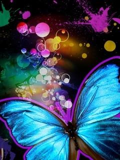 Butterflyc Mobile Wallpaper