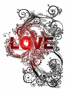 Love Art Mobile Wallpaper