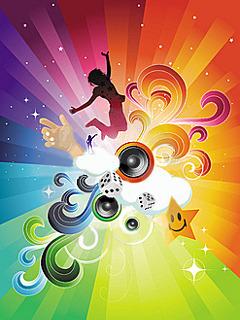 Abtract DANCE Mobile Wallpaper