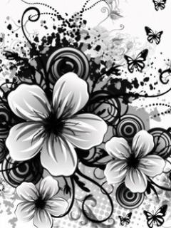 Black And White Mobile Wallpaper