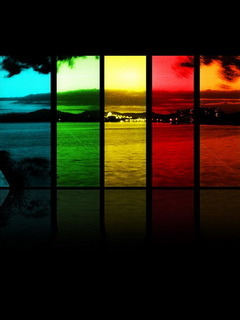 Color City Mobile Wallpaper