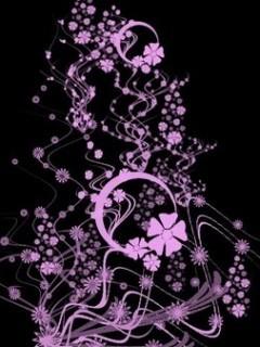 Floral Pink Mobile Wallpaper