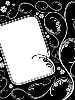 Black Frame Mobile Wallpaper