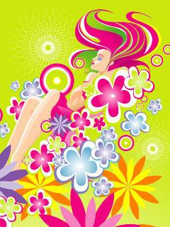 Flower Color Mobile Wallpaper