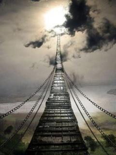 Heaven Bridge Mobile Wallpaper