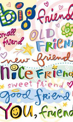 Friendz Mobile Wallpaper