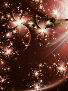 Shining Lights Mobile Wallpaper