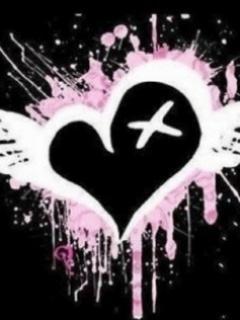 X HEART Mobile Wallpaper