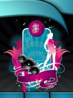 Disco Music Mobile Wallpaper