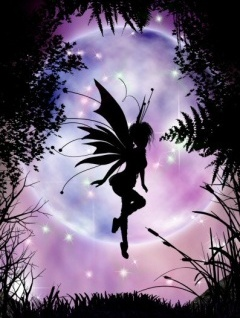 Fairy Shape Mobile Wallpaper