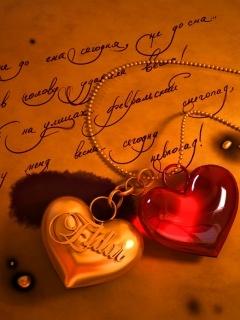 Love Orange Mobile Wallpaper