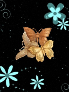 Butterfly Abstract  Mobile Wallpaper
