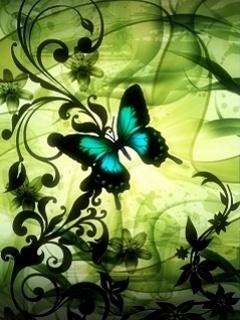 Bautiful Butterfly Mobile Wallpaper