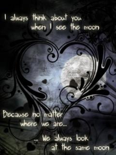 Gloomy Moon Mobile Wallpaper