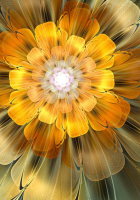 Abstract Flower Mobile Wallpaper