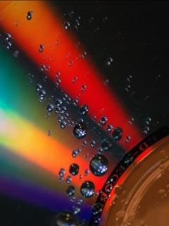 Rainbow Water Mobile Wallpaper