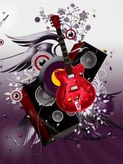 Music My Life Mobile Wallpaper