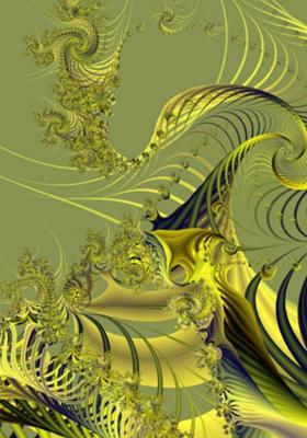 Golden Web Mobile Wallpaper