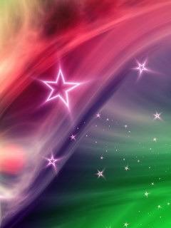 Falling Stars Mobile Wallpaper