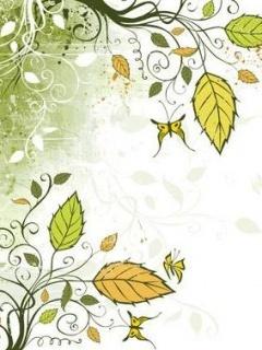 Green Leaves Mobile Wallpaper