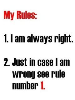 My Rules Mobile Wallpaper