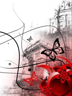 Papillon Mobile Wallpaper