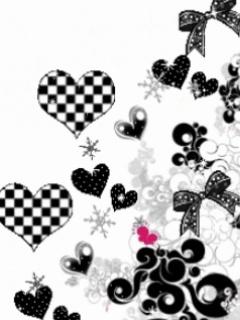 Black White Mobile Wallpaper