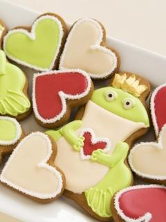 Frog Cookie Mobile Wallpaper